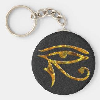Eye Of Horus - GOLD Key Ring