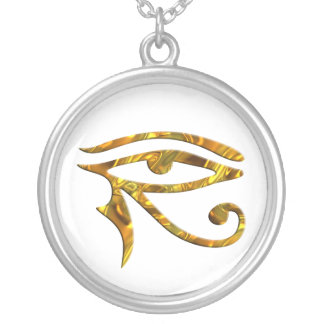 Eye Of Horus - GOLD Silver Plated Necklace