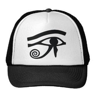Eye of Horus Hieroglyphic Hats