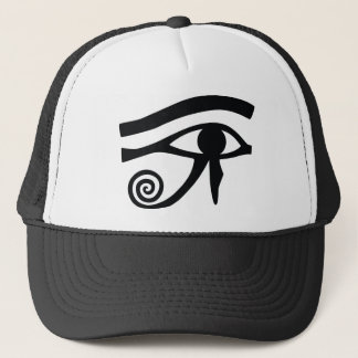 Eye of Horus Hieroglyphic Trucker Hat