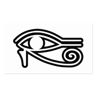 Eye_of_Horus Pack Of Standard Business Cards