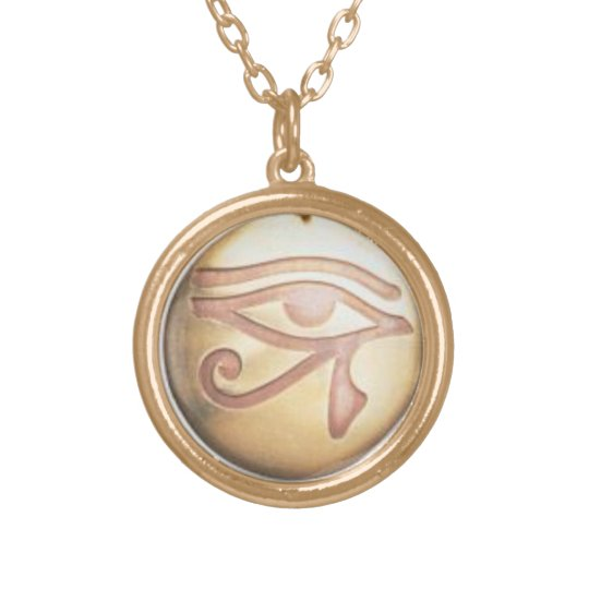 EYE OF HORUS POWERFUL PROTECTION CHARM GOLD PLATED