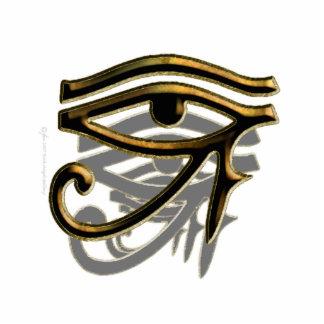 Eye of Horus Sculpture Photo Sculpture Badge