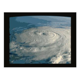 Eye of Hurricane Postcard