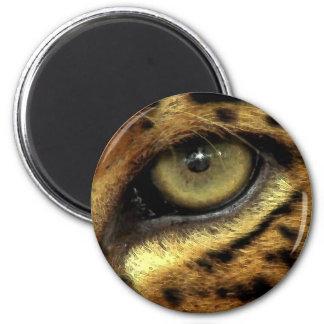EYE OF JAGUAR Round Magnet
