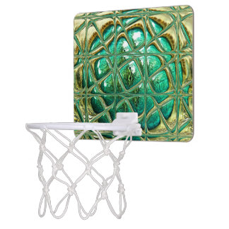 Eye of lizard mini basketball hoop