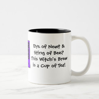Eye of Newt Sting of Bee Witch s Brew Coffee Mugs
