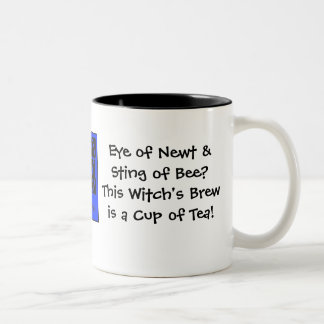 Eye of Newt & Sting of Bee? Witch's Brew... Two-Tone Coffee Mug