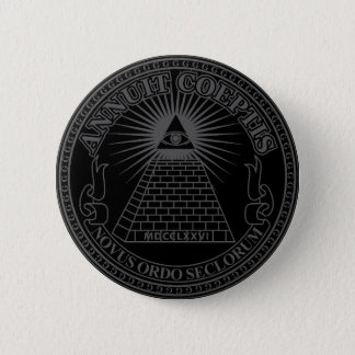 Eye of Providence 2 6 Cm Round Badge
