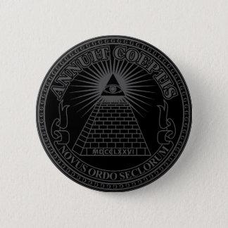 Eye of Providence 2 6 Cm Round Badge