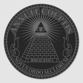 Eye of Providence 2 Classic Round Sticker