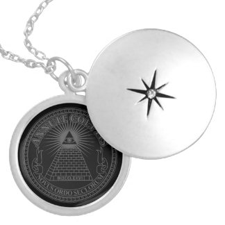 Eye of Providence 2 Locket Necklace