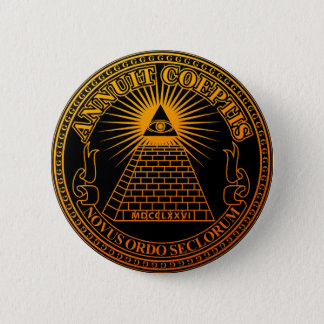 Eye of Providence 3 6 Cm Round Badge