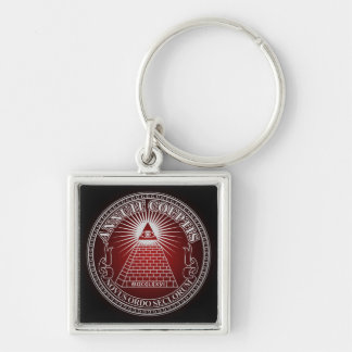 Eye of Providence 4 Key Ring
