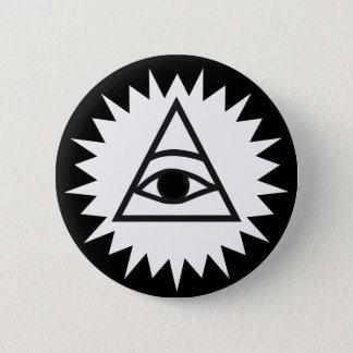 Eye of Providence 6 Cm Round Badge