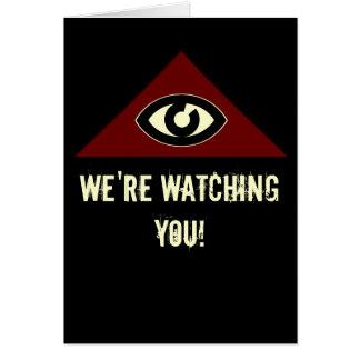 Eye Of Providence Greeting Card