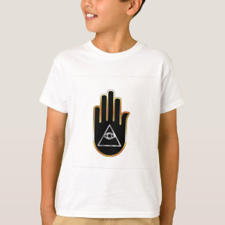 Eye of Providence in hand- religious symbol T-Shirt
