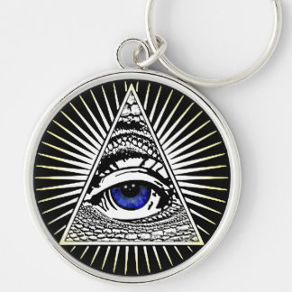 Eye of Providence Key Ring