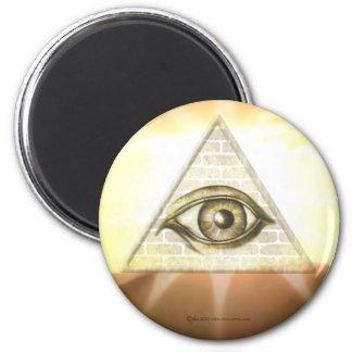 Eye of Providence Sunburst Magnet