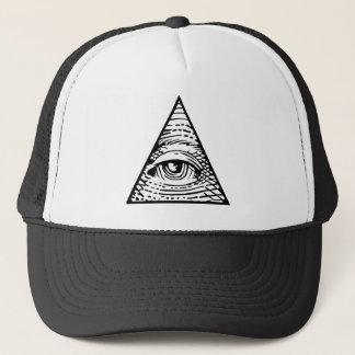 Eye of Providence Trucker Hat