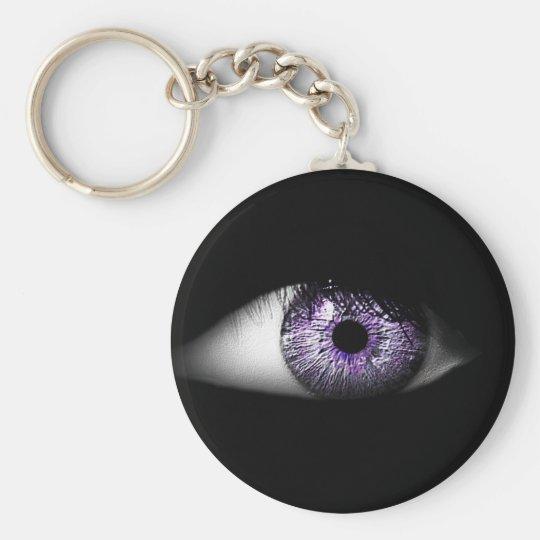 Eye of Purple Cute Cool Eyeball Design Key Ring