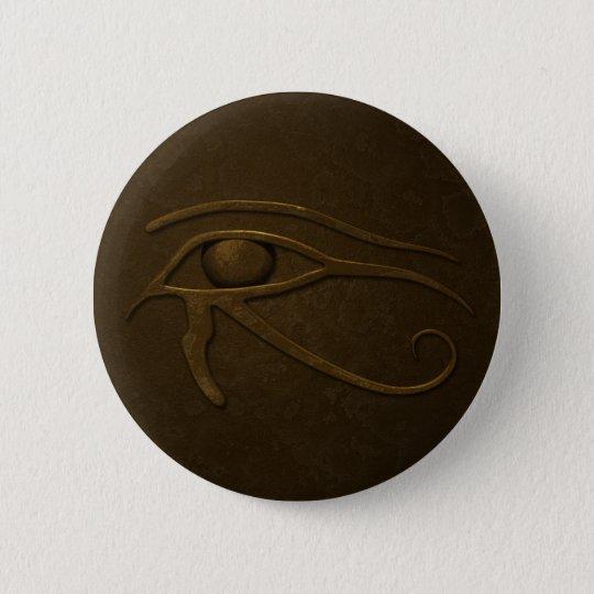 Eye of Ra 6 Cm Round Badge