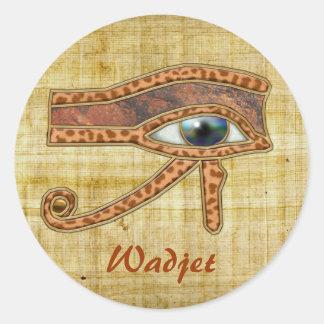 EYE OF RA Wadjet Egyptian Art Stickers
