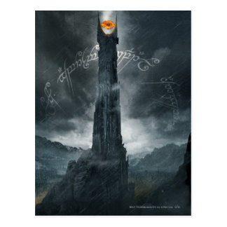 Eye of Sauron Composition Postcard
