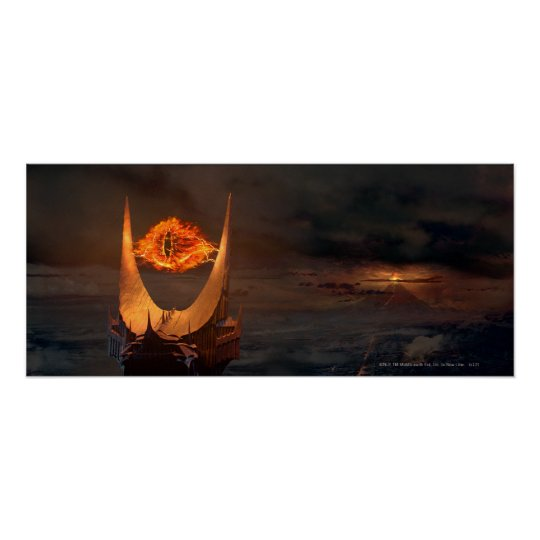 Eye of Sauron tower Poster