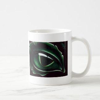 Eye Of The Baby Green Dragon Basic White Mug
