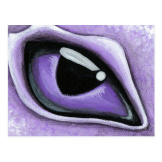 Eye Of The Baby Purple Dragon Postcard