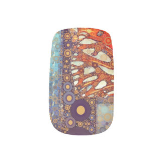 Eye of the Butterfly Minx Nail Art