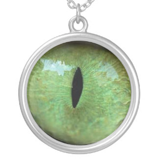 Eye of the Cat Necklace (Green)