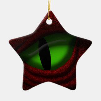 Eye of the Dragon Christmas Ornament