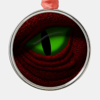 Eye of the Dragon Christmas Ornament