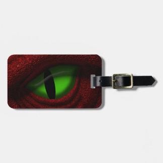 Eye of the Dragon Luggage Tag