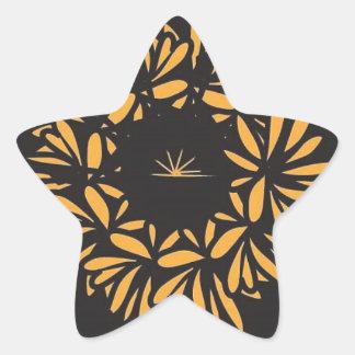 Eye of the Flower Star Sticker