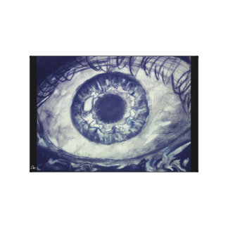 'Eye of The Mighty' Canvas