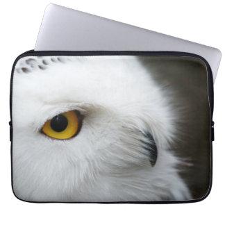 Eye of the Owl Laptop Sleeves