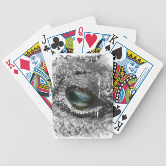 Eye Of The Reptile Bicycle Playing Cards