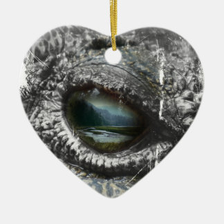 Eye Of The Reptile Christmas Ornament