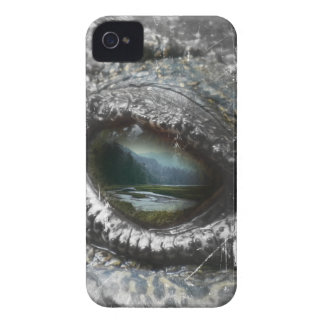 Eye Of The Reptile iPhone 4 Case-Mate Case