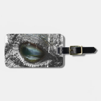 Eye Of The Reptile Luggage Tag