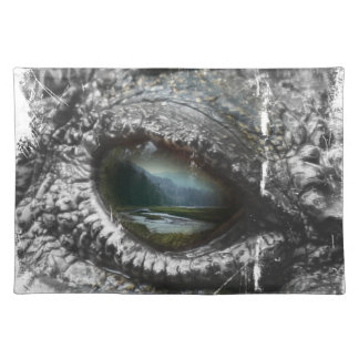 Eye Of The Reptile Placemat