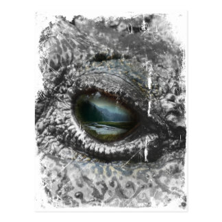Eye Of The Reptile Postcard