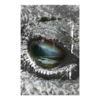 Eye Of The Reptile Stationery