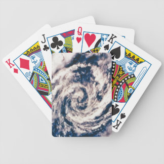 Eye of the Storm Bicycle Playing Cards