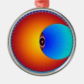 Eye Of The Sun Premium Ornament