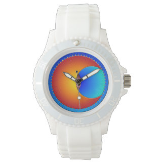 Eye Of The Sun Sporty Silicon Watch