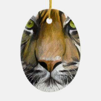Eye of the Tiger.jpg Christmas Ornament